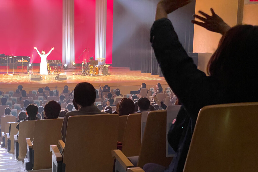半﨑美子 明日を拓くコンサート2021 あふれるありがとう hanzaki concert1 1
